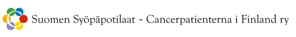 Syöpäpotilaat logo